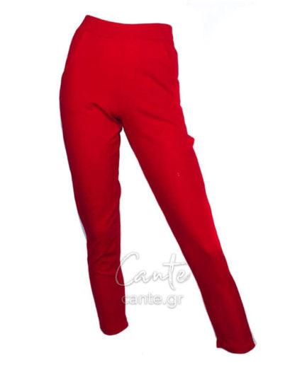 Γυναικείο Κολάν Παντελόνι Κόκκινο