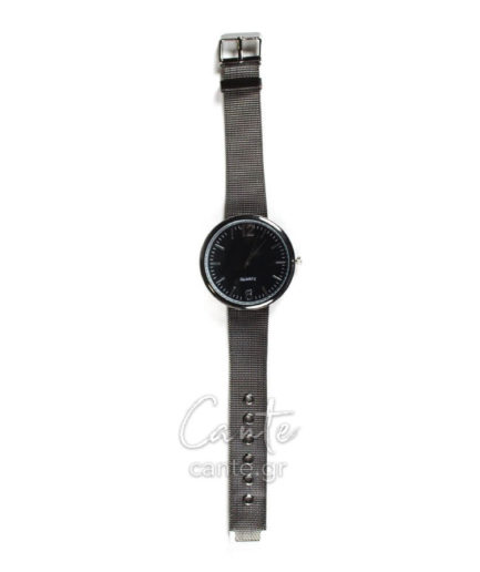 Γυναικείο Ρολόι Bracelet Ανθρακί