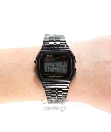 Γυναικείο Ρολόι Digital Bracelet Ανθρακί