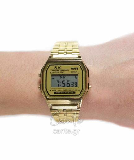 Γυναικείο Ρολόι Digital Bracelet Χρυσό