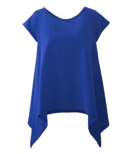 Γυναικεία Μπλούζα Με Μύτες Μπλε