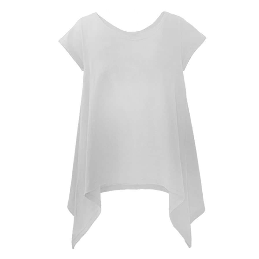 Γυναικεία Μπλούζα Με Μύτες Άσπρη