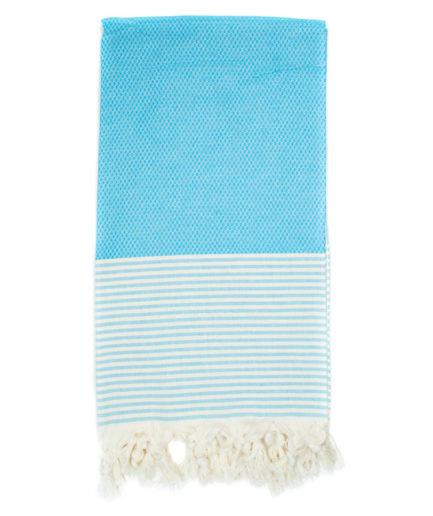 Πετσέτα Θαλάσσης Pestemal Γαλάζια