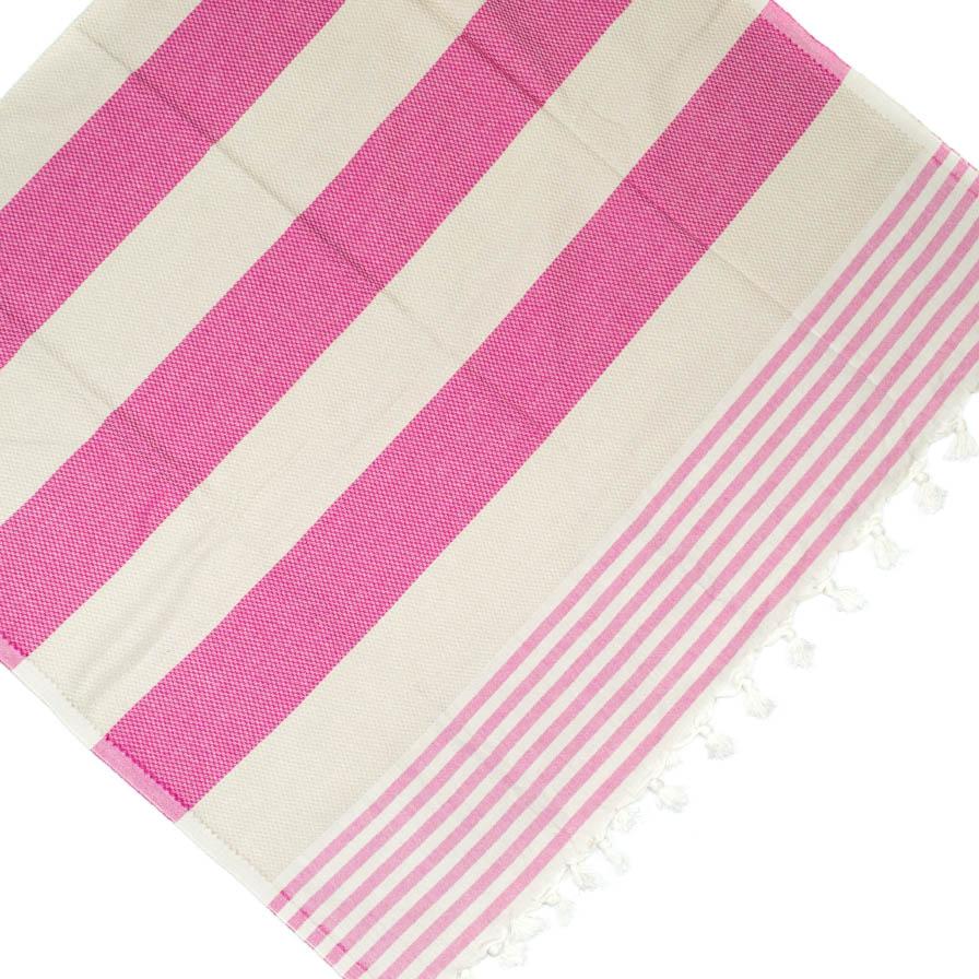 Πετσέτα Θαλάσσης Pestemal Ροζ