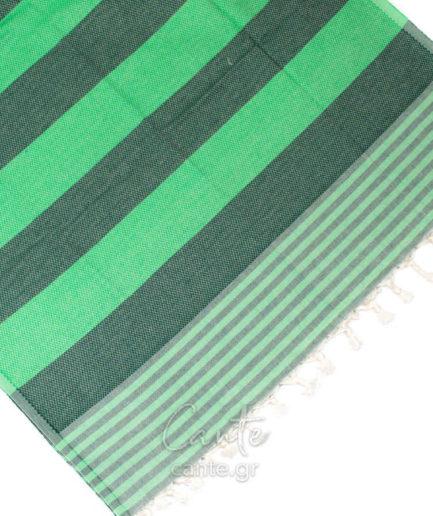 Πετσέτα Θαλάσσης Pestemal Πράσινη