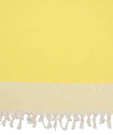 Πετσέτα Θαλάσσης Pestemal Κίτρινη - Cante.gr