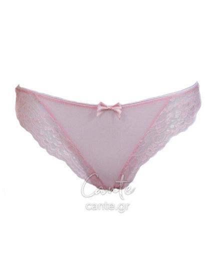 Γυναικεία Χαμηλόμεσα Εσώρουχα String Ροζ