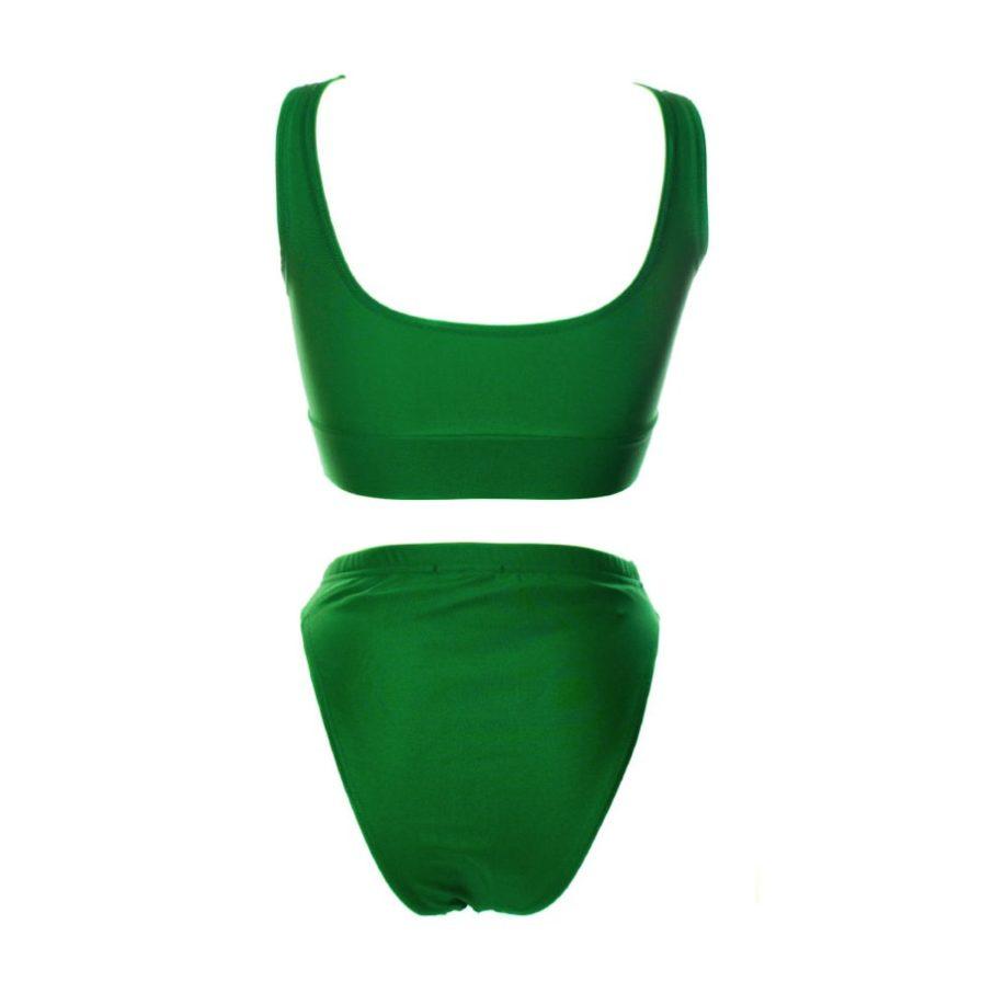 Γυναικεία Μαγίο Μεταλιζέ Πράσινο