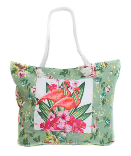 Γυναικεία Τσάντα Θαλάσσης Φλοράλ