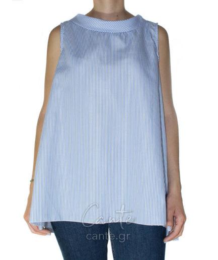 Γυναικεία Μπλούζα Τιραντέ Ριγιέ