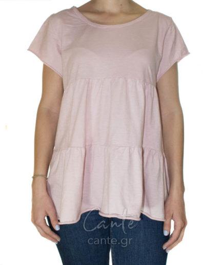 Γυναικείο Μπλούζα Ροζ