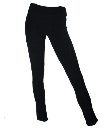 Κολάν Παντελόνι Με Τσέπες Μαύρο