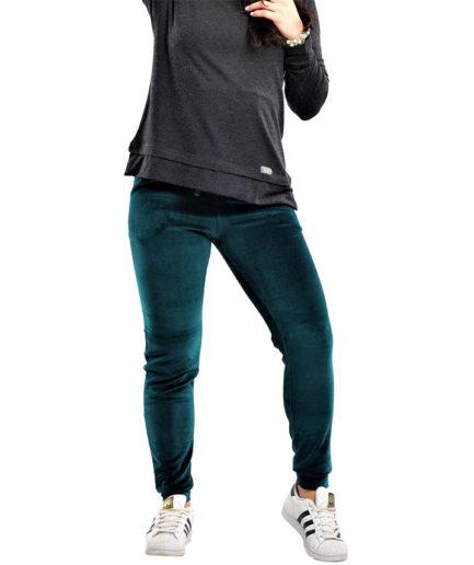 Γυναικείο Παντελόνι Βελούδο Πράσινο