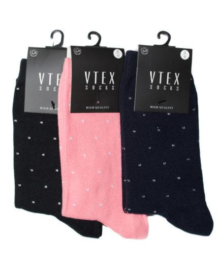 Σετ Γυναικείες Κάλτσες Ψηλές Πουά