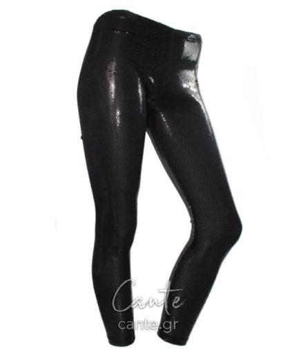 Γυναικείο Κολάν Με Παγιέτες Μαύρο ... b54af4696b9
