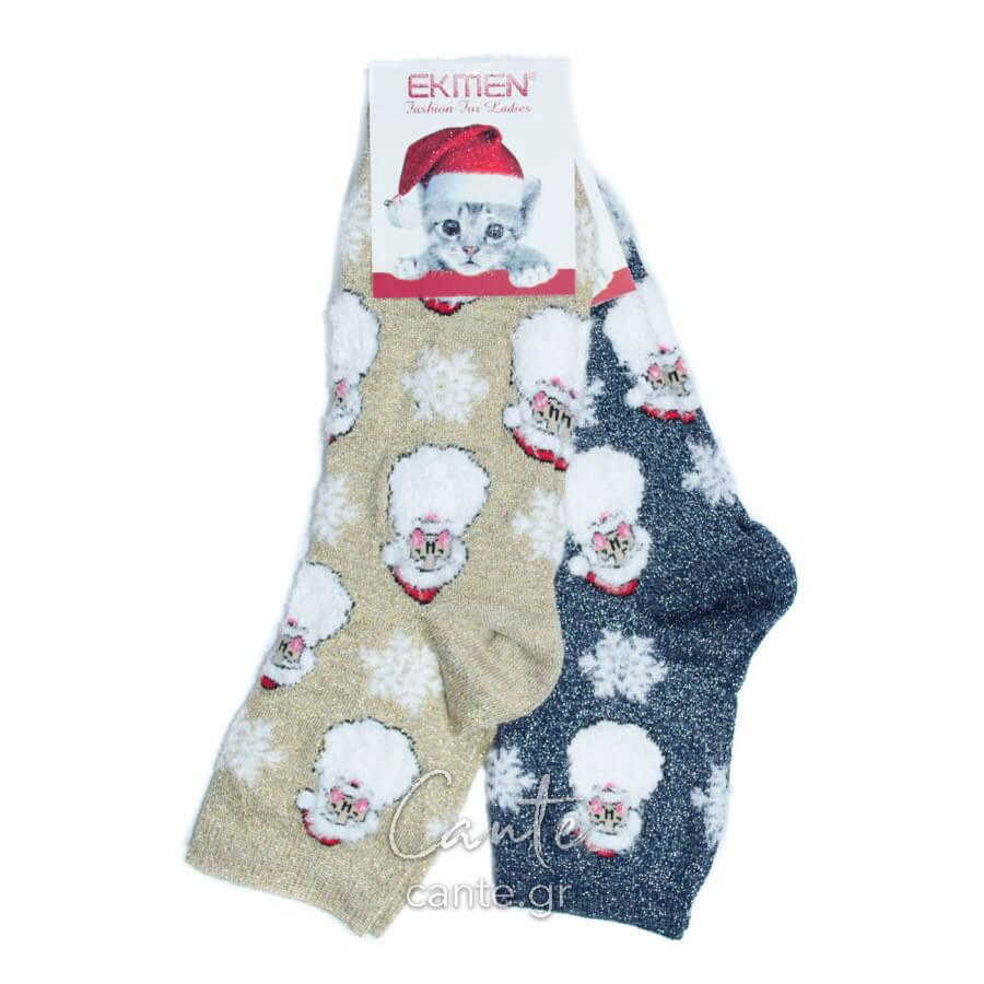 Σετ Γυναικείες Κάλτσες Χριστουγεννιάτικες - Γυναικείες Κάλτσες - Cante e90e80365c3