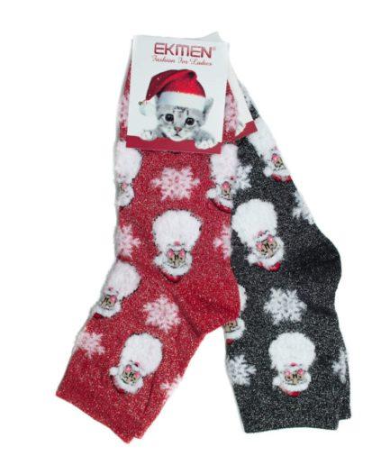 Σετ Γυναικείες Κάλτσες Χριστουγεννιάτικες