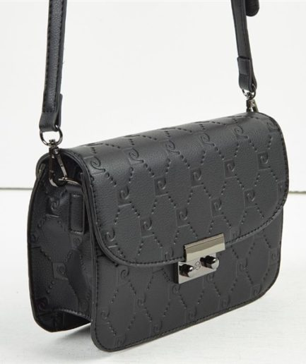 2192675d4a ... Γυναικεία Τσάντα Ώμου Pierre Cardin Με Λογότυπο Μαύρη