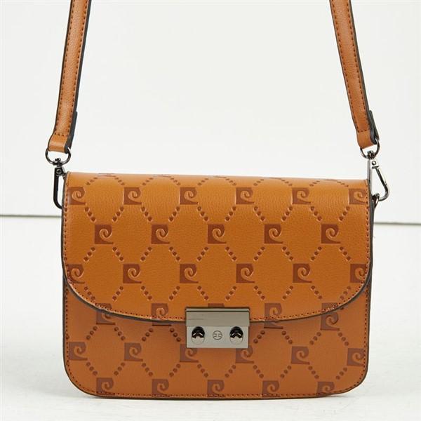 Γυναικεία Τσάντα Ώμου Pierre Cardin Με Λογότυπο Ταμπά