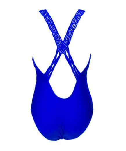 cante.gr Γυναικείο Ολόσωμο Μαγιό Μπλε