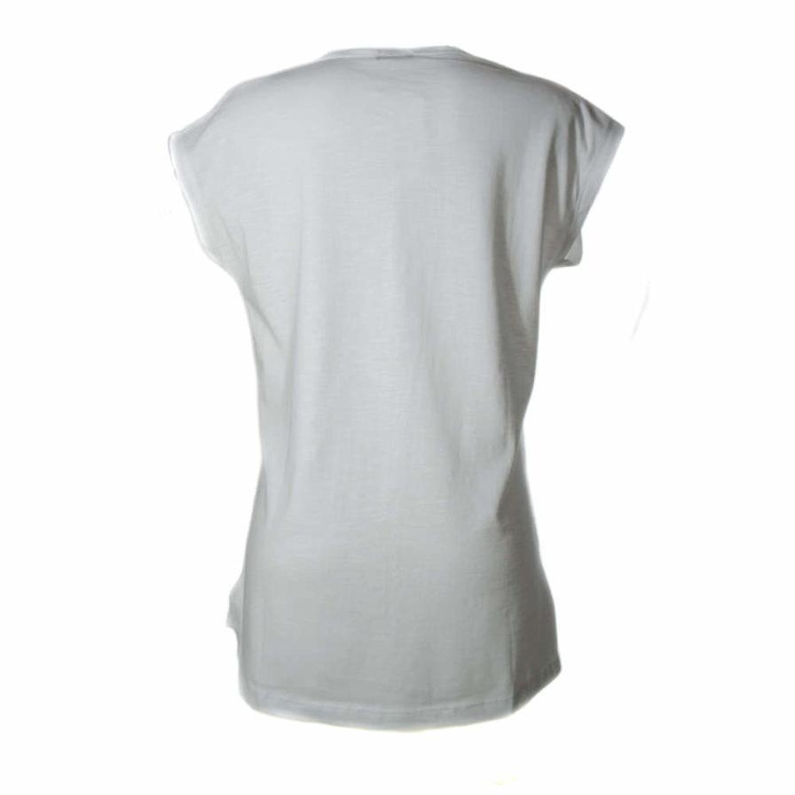 Γυναικεία Μπλούζα Ασύμμετρη Άσπρη