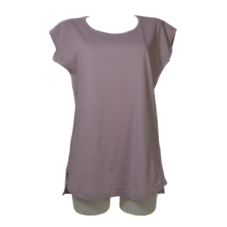 Γυναικεία Μπλούζα Ασύμμετρη Ροζ