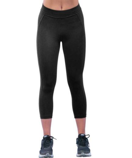 cante.gr Γυναικείο Αθλητικό Κολάν Dry Fit Κάπρι Μαύρο