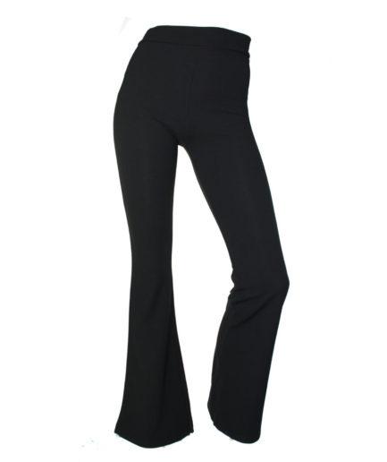 Γυναικείο Παντελόνα Καμπάνα Μαύρη
