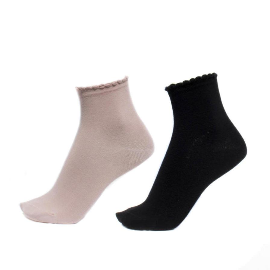 Σετ 3 Γυναικείες Κάλτσες 3/4 Μονόχρωμες