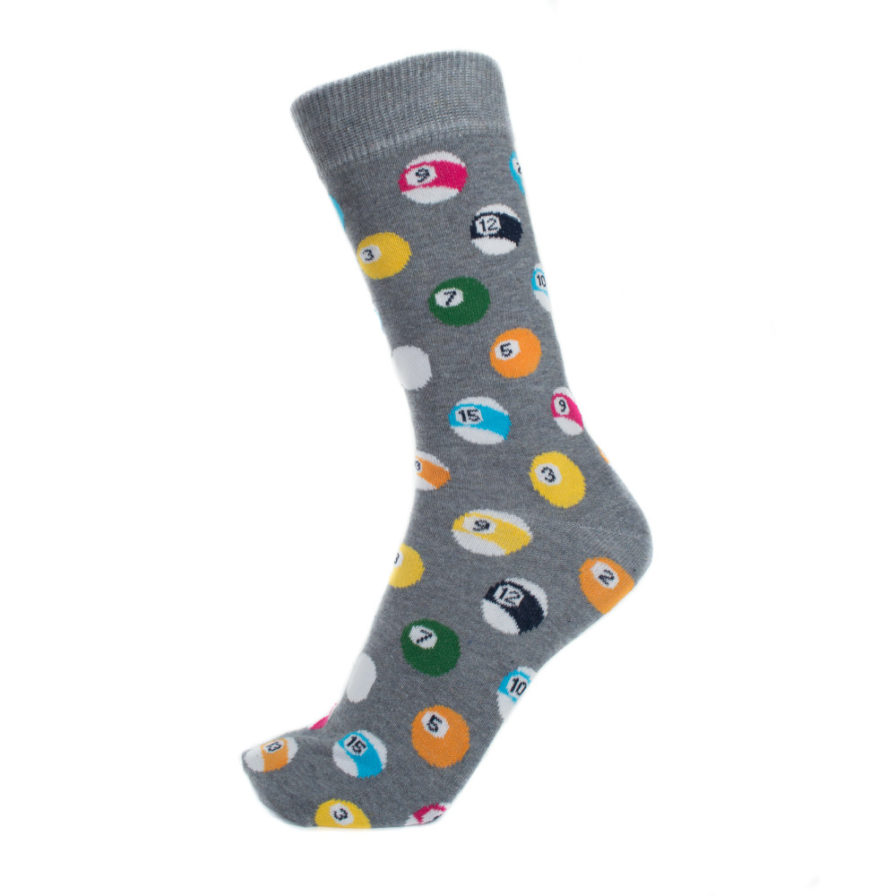 Σετ Ανδρικές Κάλτσες Ψηλές Με Λεωφορεία & Μπάλες