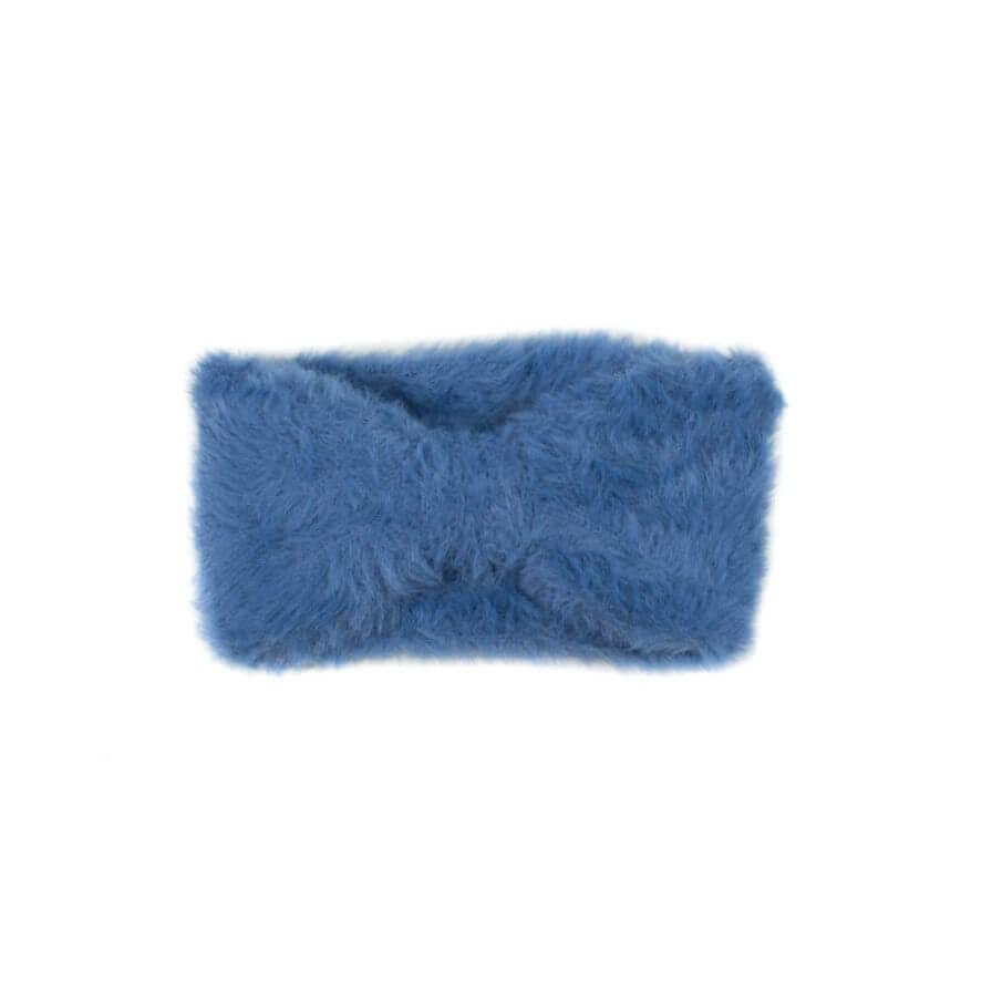 Γυναικεία Κορδέλα Τύπου Μοχέρ Μπλε Ραφ - Cante.gr