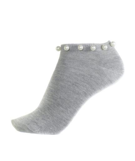 Σετ Γυναικείες Κάλτσες Σοσόνι Με Πέρλες