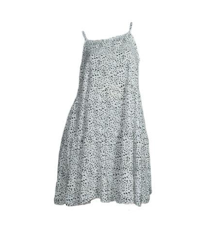Γυναικείο Φόρεμα Τιραντέ Εμπριμέ Oversized - Cante.gr