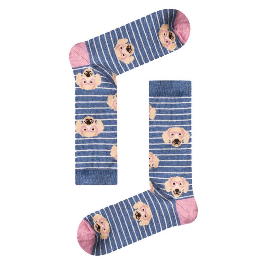Γυναικείες Κάλτσες Ψηλές Cocker Spaniel - Cante.gr