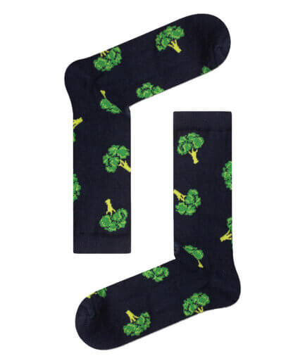 Unisex Κάλτσες Ψηλές Με Μπρόκολα - Cante.gr