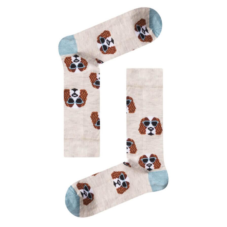 Γυναικείες Κάλτσες Ψηλές Basset Hound - Cante.gr
