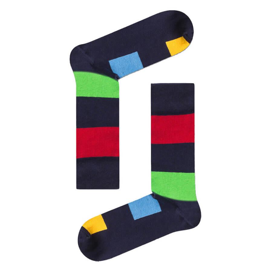 Ανδρικές Κάλτσες Ψηλές Ριγέ - Cante.gr