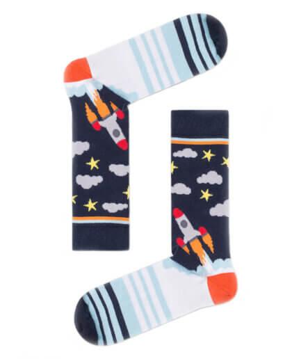 Ανδρικές Κάλτσες Ψηλές Με Πύραυλο - Cante.gr