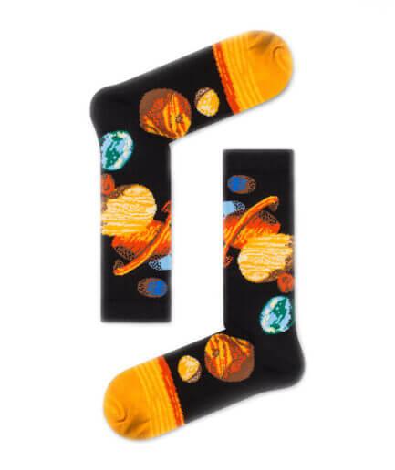 Unisex Κάλτσες Ψηλές Με Πλανήτες - Cante.gr
