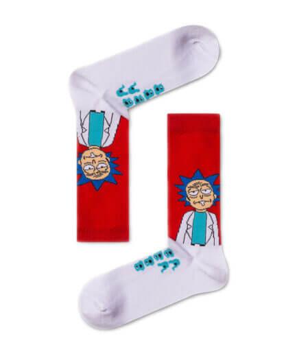 Unisex Κάλτσες Ψηλές Rick & Morty - Cante.gr