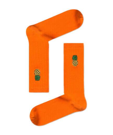 Unisex Κάλτσες Ψηλές Με Ανανά - Cante.gr
