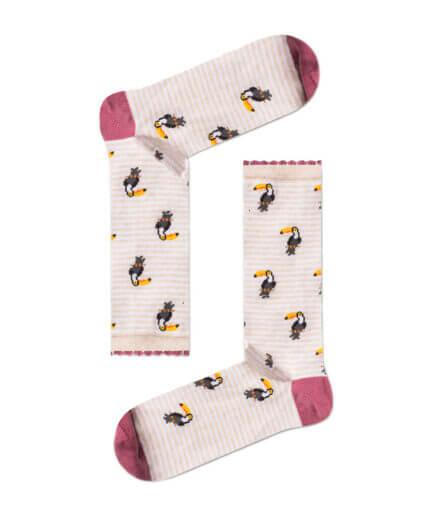 Unisex Κάλτσες Ψηλές Με Τουκάν - Cante.gr