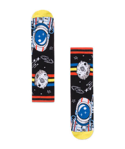 Unisex Κάλτσες Ψηλές Space Ριγιέ - Cante.gr