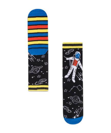 Unisex Κάλτσες Ψηλές Αστροναύτης Ριγιέ - Cante.gr