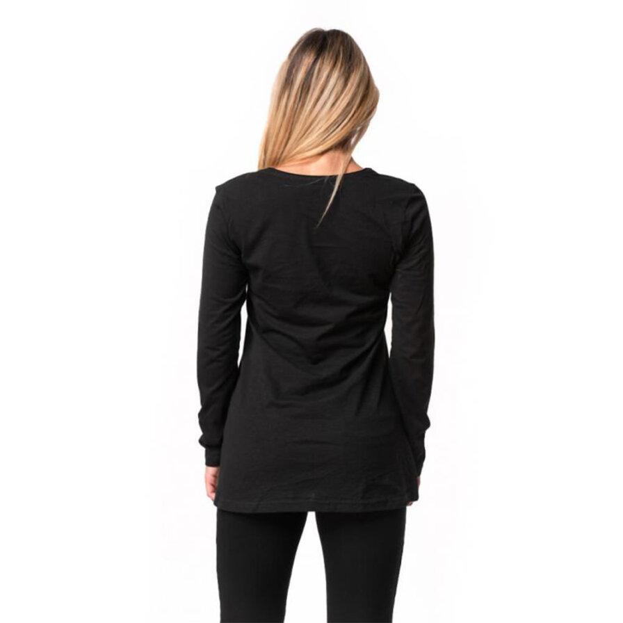 Γυναικεία Μπλούζα Μακρυμάνικη Μαύρη - Cante.gr