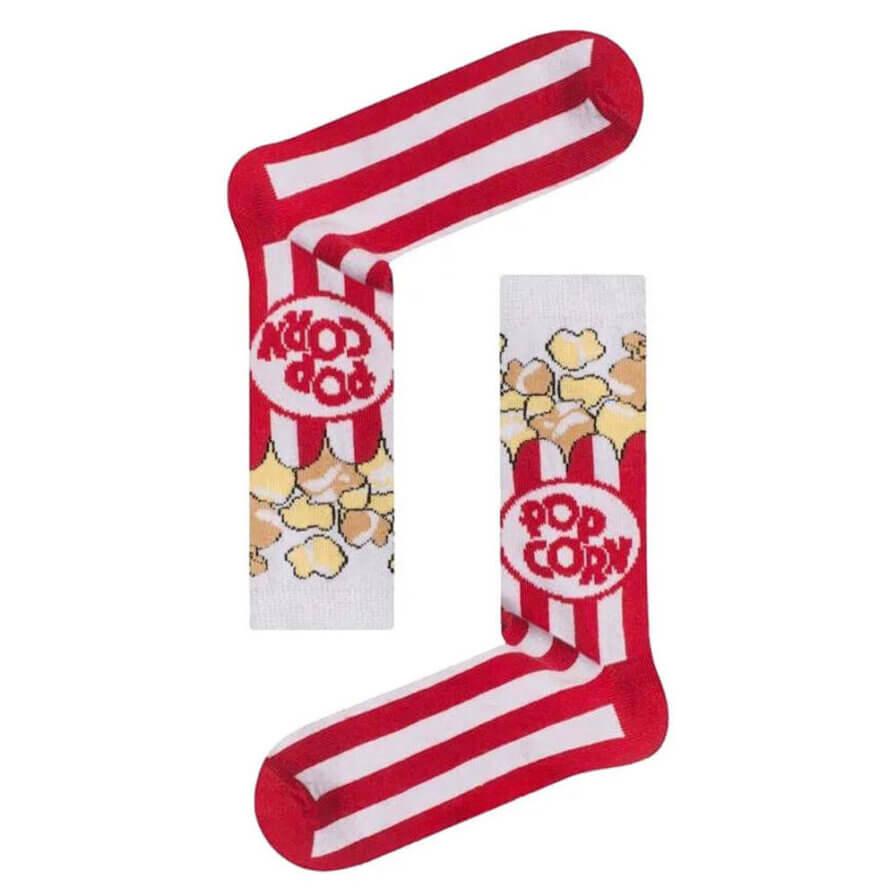 Unisex Κάλτσες Ψηλές Pop Corn - Cante.gr