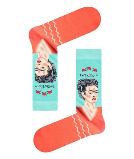 Ανδρικές Κάλτσες Ψηλές Frida Kahlo - Cante.gr