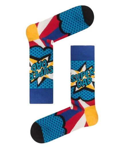 Ανδρικές Κάλτσες Ψηλές Super Dad - Cante.gr