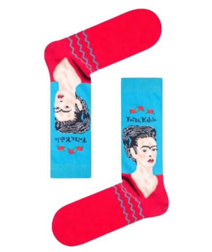 Unisex Κάλτσες Ψηλές Frida Kahlo - Cante.gr