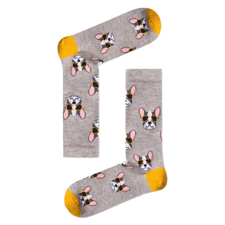 Γυναικείες Κάλτσες Ψηλές Pug - Cante.gr